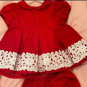 Janie & Jack baby dress 12m